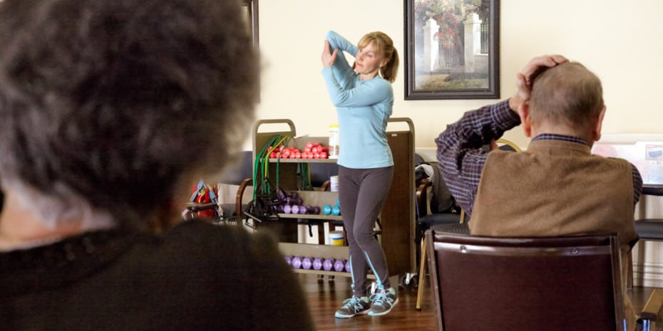 Silver Sneakers Exercise Class