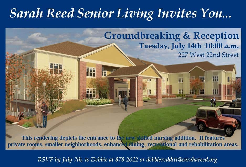 Sarah Reed -Ground breaking Invitation